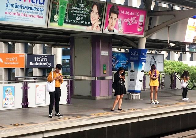 Ratchadamri BTS, Lumphini, Bangkok, Thailand