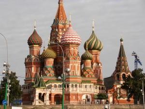 Foto della La Cattedrale di San Basiglio a Mosca in Russia