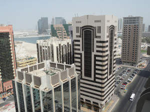 Tourist Club Area from the Rooftop of Vision Hotel Apartment, Abu Dhabi