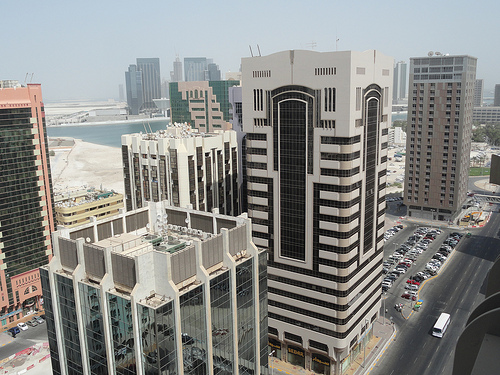 Photo of Tourist Club Area from the Rooftop of Vision Hotel Apartment, Abu Dhabi, UAE