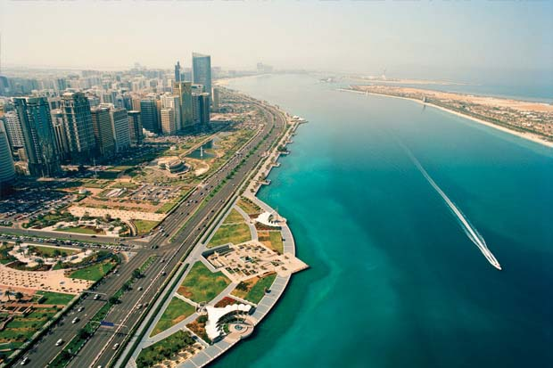 Photo of the Corniche, Abu Dhabi, UAE