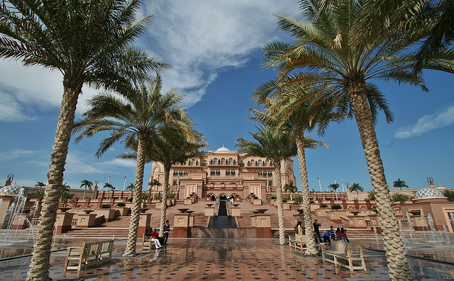 A Photo of Emirates Palace Hotel in Abu Dhabi, UAE