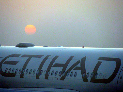 Photo of Etihad Airways at Abu Dhabi Airport in UAE
