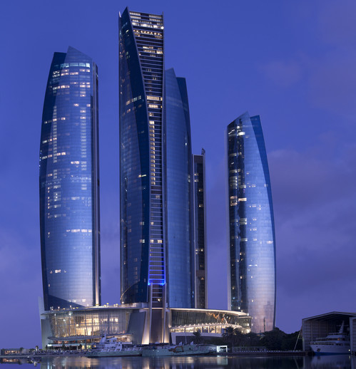 A Photo of Conrad Abu Dhabi Etihad Towers Hotel in Abu Dhabi, UAE