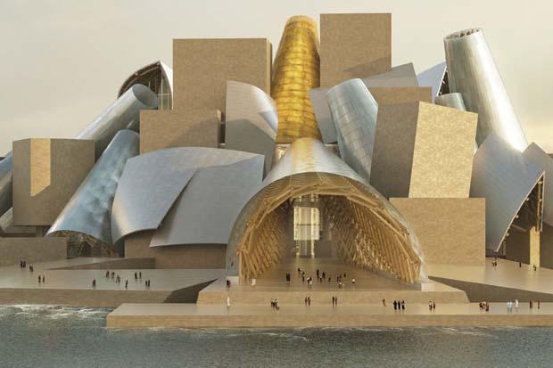 Abu Dhabi. Il Louvre Abu Dhabi ed i Musei di Saadiyat Island. Ferrari World e Yas Marina Circuit a Yas Island