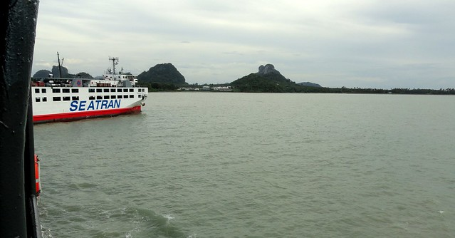 Seatran Ferry, Donsak Pier, near Surat Thani, Thailand