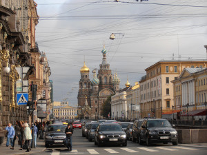 A Photo of St Petersburg in Russia
