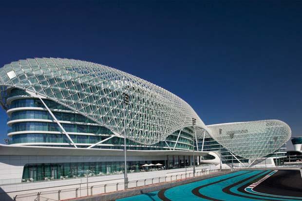 Yas Viceroy Hotel and Yas Marina Circuit, Abu Dhabi, UAE