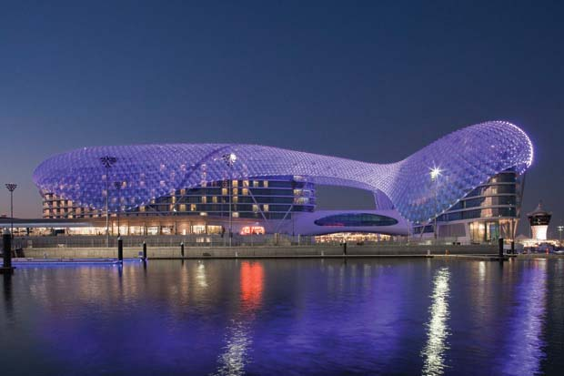 A Photo of Yas Hotel, Yas Island, Abu Dhabi, UAE