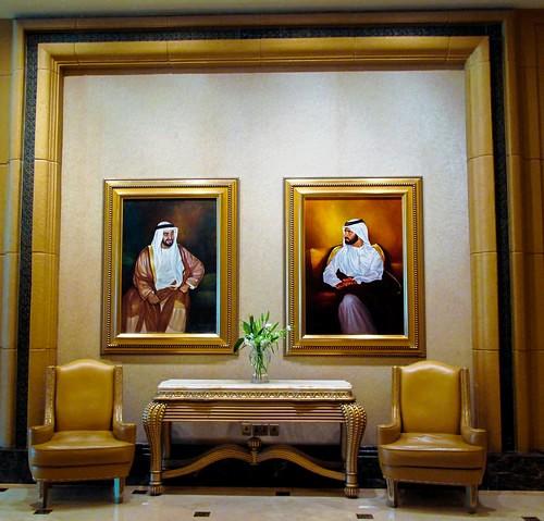 Inside Emirates Palace, Abu Dhabi