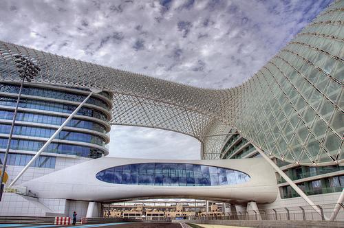 Yas Hotel, Yas Marina Circuit, Yas Island, Abu Dhabi, UAE