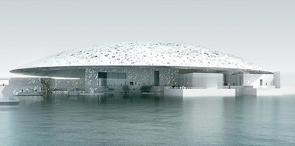 Louvre Abu Dhabi Museum, United Arab Emirates