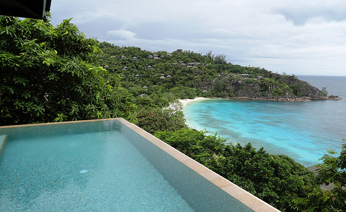 View from a Villa, Four Seasons Resort, Mahé Island, Seychelles