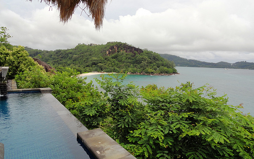 Photo of a Private Pool Villa at Maia Luxury Resort, Mahé Island, Seychelles