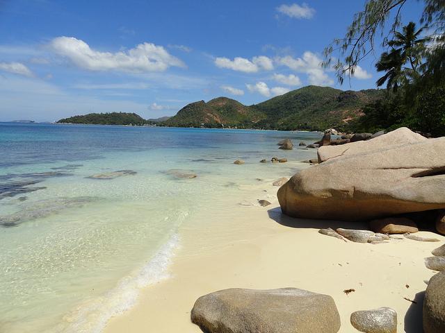Photo of Anse Takamaka, Praslin Island, Seychelles