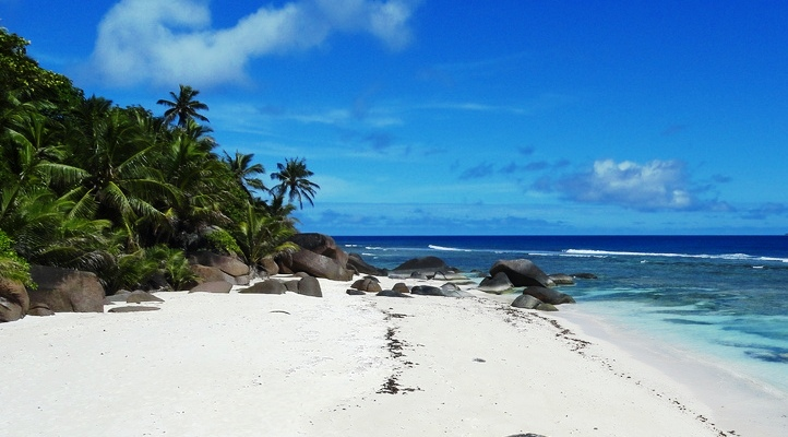 Photo of the Beact, Silhouette Island, Seychelles