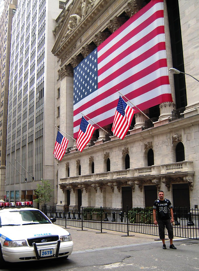 Photo of Wall Street, New York