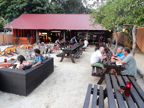 A Picture of Ombak Café, Coral Bay, Perhentian Kecil, Malaysia