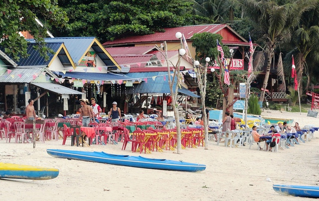 A Picture of Coral Bay, Perhentian Kecil, Malaysia