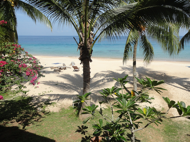 A Picture of Mira Beach from Keranji Beach Resort, Perhentian Kecil, Malaysia