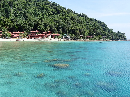 A Picture of Coral Bay, Perhentian Kecil