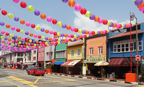 A Photo of Singapore's Chinatown
