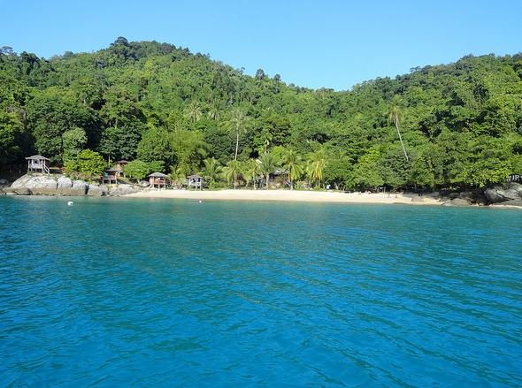 Hidden Mira Beach, Perhentian Kecil, Malaysia