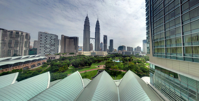 Photo of KLCC Park from Traders Hotel, Kuala Lumpur
