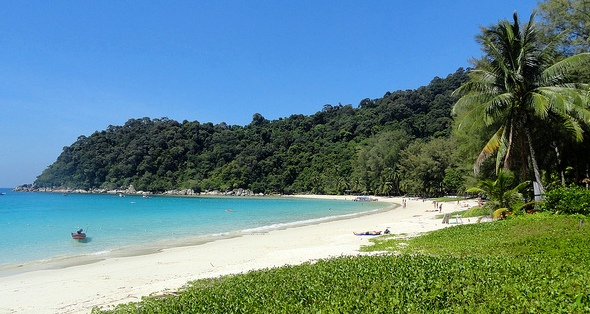 Perhentian Island Resort PIR Beach, One of the Greatest Beaches of Perhentian, Malaysia