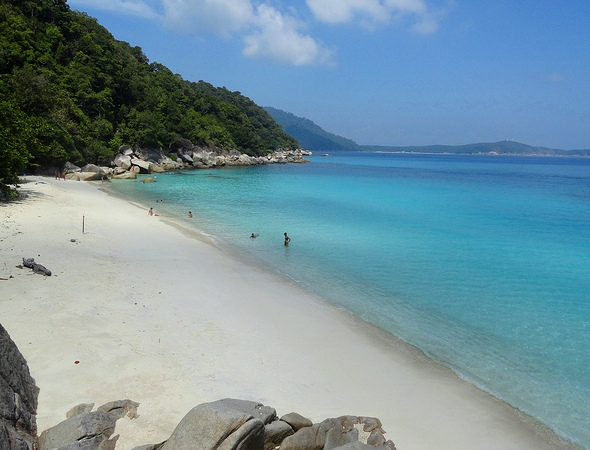 Spectacular Turtle Bay, Perhentian Besar, Malaysia