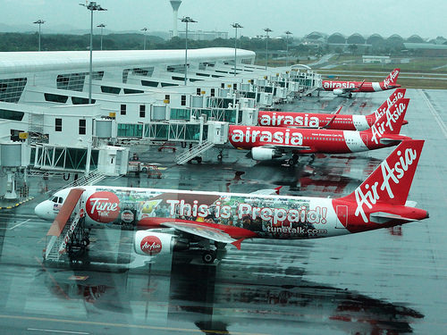 Photo of Air Asia Planes at KLIA2, Malaysia