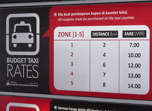 Photo of Budget Taxi Fixed Rate at KL Sentral