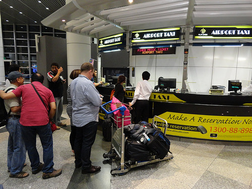 Photo of Coupon Taxi Counter at KLIA | Kuala Lumpur International Airport