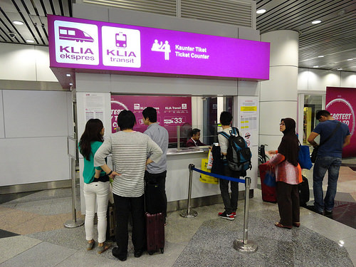 Photo of KLIA Ekspres and Transit Counter at KLIA | Kuala Lumpur International Airport