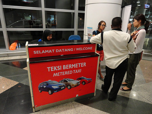 Photo of Metered Taxi Counter at KLIA | Kuala Lumpur International Airport