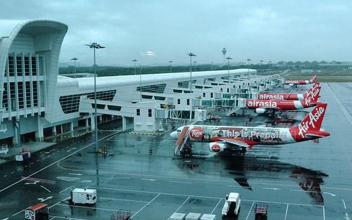 KLIA2 Terminal at Kuala Lumpur International Airport, Malaysia