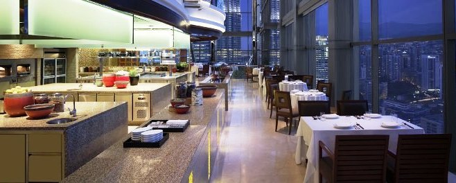 A Photo of THIRTY8 Panoramci Restaurant at Grand Hyatt Kuala Lumpur