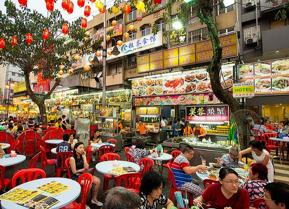 Jalan Alor, the Restaurant Street, Bukit Bintang, Kuala Lumpur, Malaysia