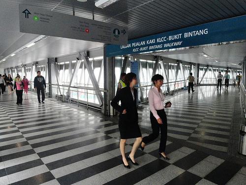 A Photo of Bukit Bintang – KLCC Walkway, Kuala Lumpur, Malaysia