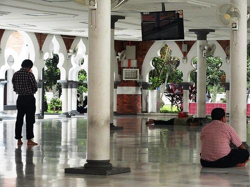 A Photo of Masjid Jamek in Kuala Lumpur, Malaysia