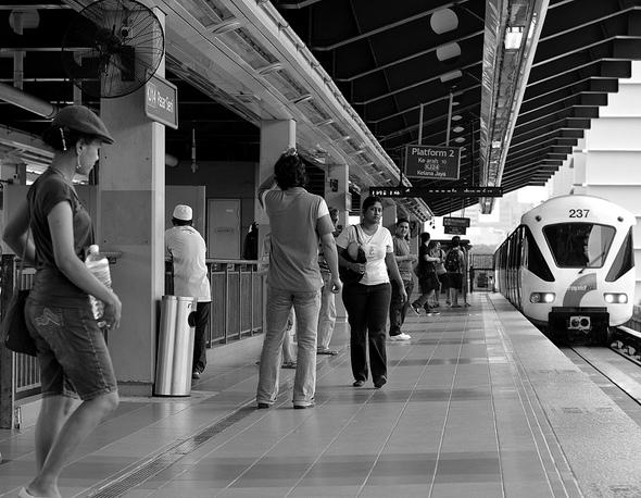 Photo of Pasar Seni LRT Station, Kuala Lumpur, Malaysia