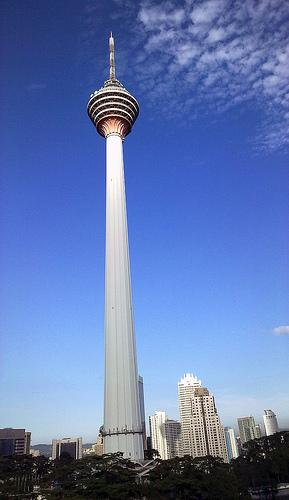 A Photo of Menara Tower in Kuala Lumpur, Malaysia