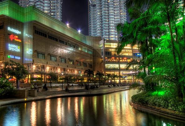 Petronas Tower and KLCC, Kuala Lumpur, Malaysia