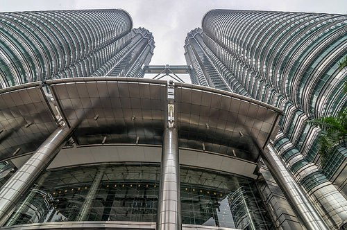 Petronas Towers, the Twin Skyscrapers, Kuala Lumpur