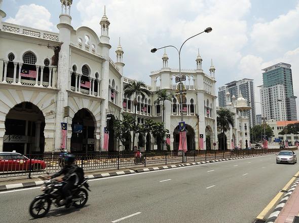 Kuala Lumpur KTM Railway Station, Kuala Lumpur, Malaysia