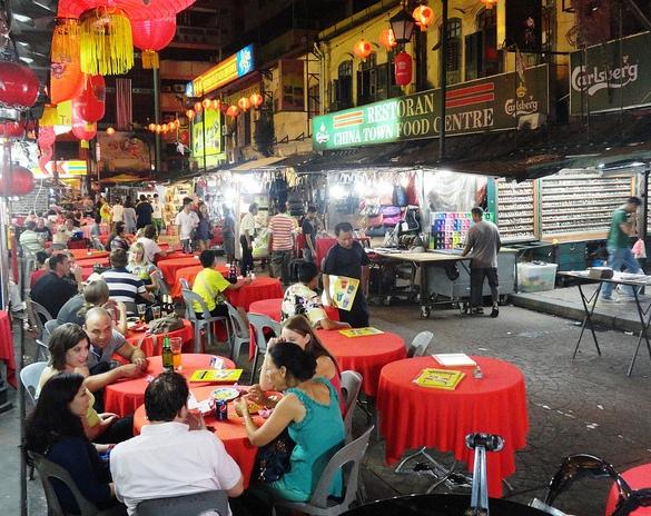 Corner of Petaling Street & Jalan Hang Lekir, Chinatown, Kuala Lumpur