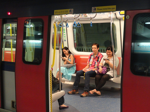 Photo of Hong Kong Subway