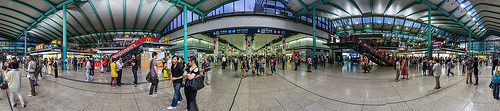 Photo of Hung Hom MTR Station in Kowloon, Hong Kong