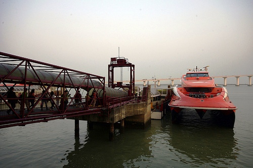Photo of a Ferry in Macau