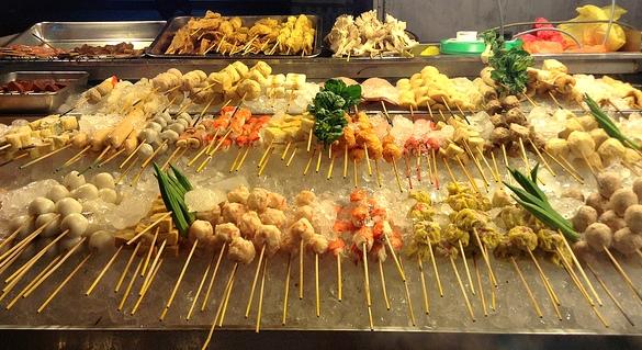 Street Food, Jalan Alor, Bukit Bintang, Kuala Lumpur